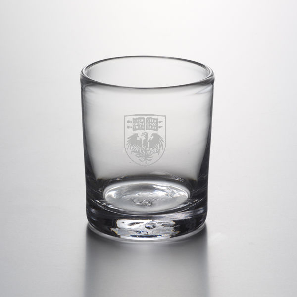 Chicago Double Old Fashioned Glass by Simon Pearce