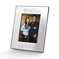 Holy Cross Polished Pewter 4x6 Picture Frame