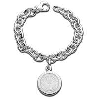 Auburn Sterling Silver Charm Bracelet