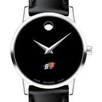 Bucknell Women's Movado Museum with Leather Strap