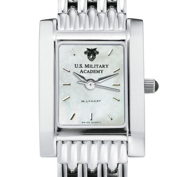 USMA Women's Mother of Pearl Quad Watch with Bracelet