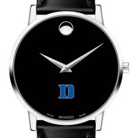 Duke Men's Movado Museum with Leather Strap