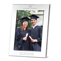 Alabama Polished Pewter 5x7 Picture Frame