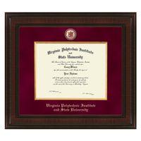 Virginia Tech Bachelor's Excelsior Diploma Frame