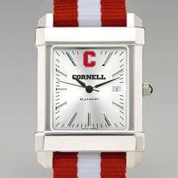 Cornell Men's Collegiate Watch with NATO Strap