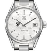 Harvard Business School Women's TAG Heuer Steel Carrera with MOP Dial
