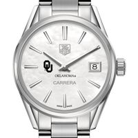 Oklahoma Women's TAG Heuer Steel Carrera with MOP Dial