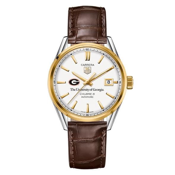 Georgia Men S Tag Heuer Two Tone Carrera With Strap At M