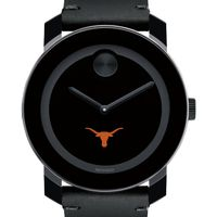 Texas Men's Movado BOLD with Leather Strap
