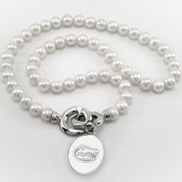 Florida Pearl Necklace with Sterling Silver Charm