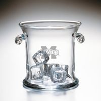 Mississippi State Glass Ice Bucket by Simon Pearce