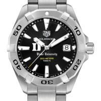 Duke Men's TAG Heuer Steel Aquaracer with Black Dial