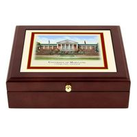 Maryland Eglomise Desk Box