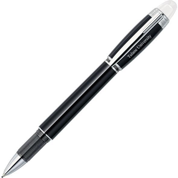 Tulane University Montblanc StarWalker Fineliner Pen in Platinum