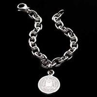 UNC Sterling Silver Charm Bracelet