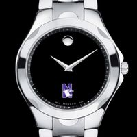 Northwestern Men's Movado Luno Sport with Steel Bracelet Image-1 Thumbnail
