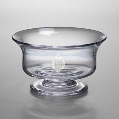 USNA Large Glass Bowl by Simon Pearce