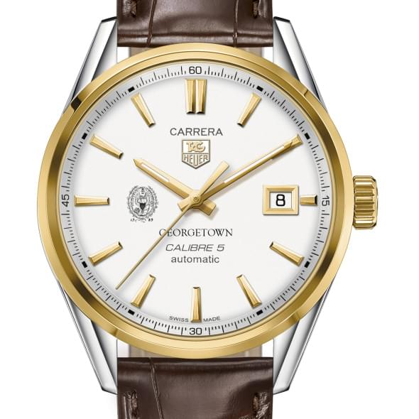 Georgetown Men's TAG Heuer Two-Tone Carrera with Strap