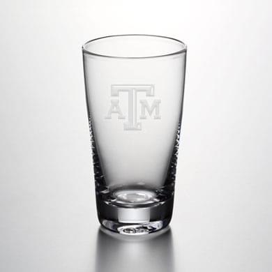 Texas A&M Pint Glass by Simon Pearce