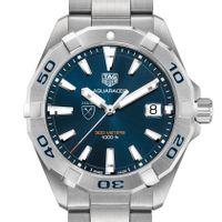 Emory Men's TAG Heuer Steel Aquaracer with Blue Dial