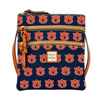 Auburn  Dooney & Bourke Triple Zip Bag