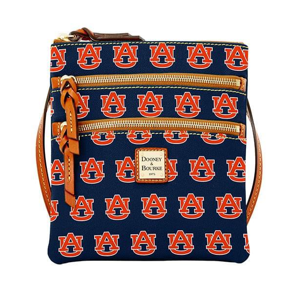 Auburn Dooney & Bourke Triple Zip Bag