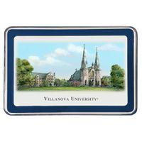 Villanova University Eglomise Paperweight