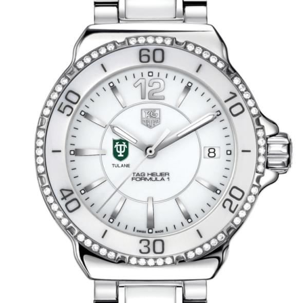 Tulane Women's TAG Heuer Formula 1 Ceramic Diamond Watch