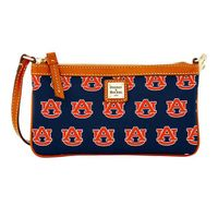 Auburn Dooney & Bourke Large Slim Wristlet