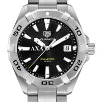 Lambda Chi Alpha Men's TAG Heuer Steel Aquaracer with Black Dial Image-1 Thumbnail
