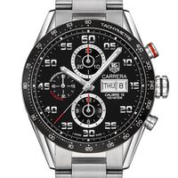 Naval Academy Men's TAG Heuer Carrera Tachymeter