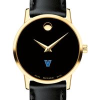 Villanova University Women's Movado Gold Museum Classic Leather