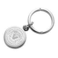 Vanderbilt Sterling Silver Insignia Key Ring Image-1 Thumbnail