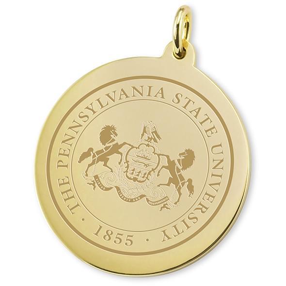 penn state 14k gold charm at m lahart company