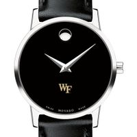 Wake Forest Women's Movado Museum with Leather Strap