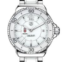 Brown Women's TAG Heuer Formula 1 Ceramic Diamond Watch