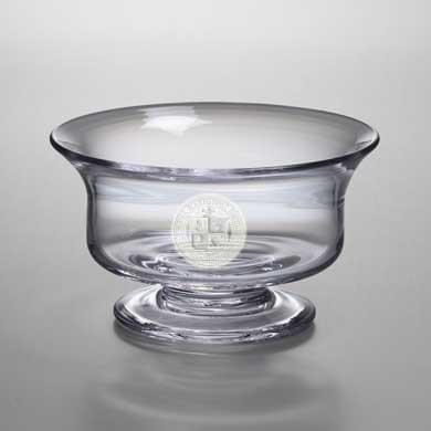 VT Medium Glass Presentation Bowl by Simon Pearce