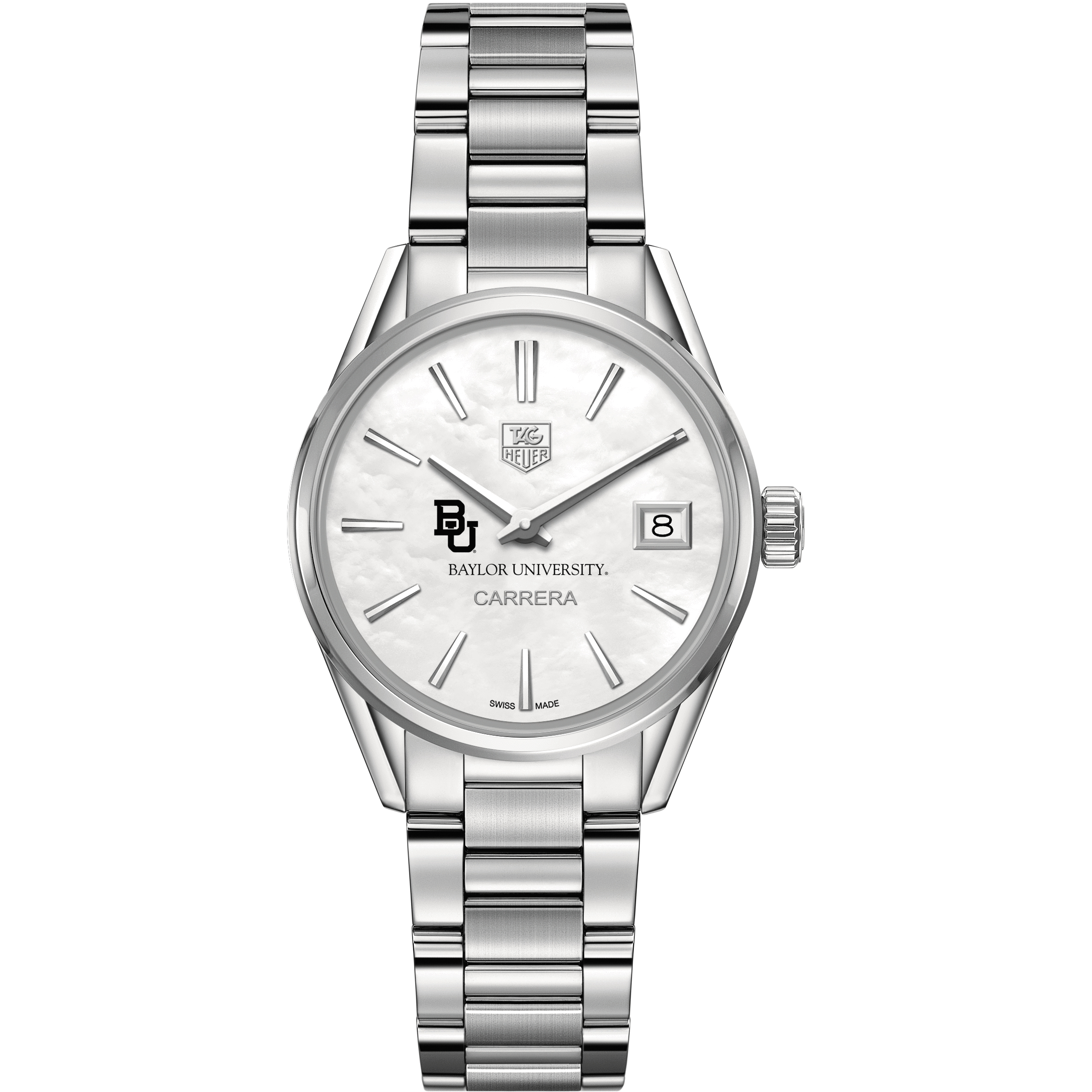 Baylor Women's TAG Heuer Steel Carrera with MOP Dial