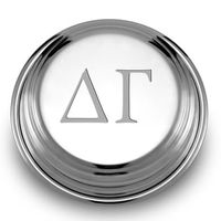 Delta Gamma Pewter Paperweight Image-1 Thumbnail