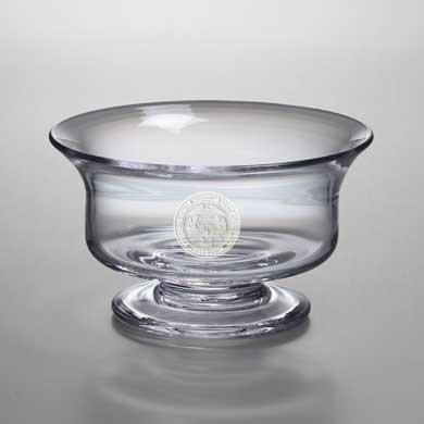 USMMA Medium Glass Presentation Bowl by Simon Pearce