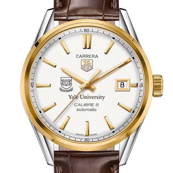 Yale Men's TAG Heuer Two-Tone Carrera with Strap