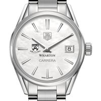Wharton Women's TAG Heuer Steel Carrera with MOP Dial