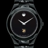 West Point Men's Movado Luno Sport with Black PVD Bracelet