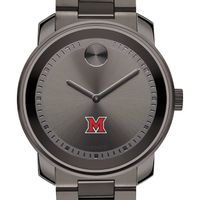 Miami University Men's Movado BOLD Gunmetal Grey