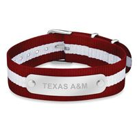Texas A&M University NATO ID Bracelet