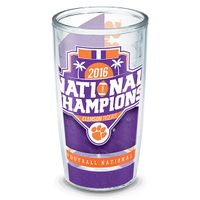 Clemson 16 oz. Tervis Tumblers - Set of 4- Championship Edition