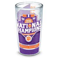 Clemson 16 oz. Tervis Tumblers - Set of 4- Championship Edition