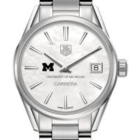 Michigan Women's TAG Heuer Steel Carrera with MOP Dial