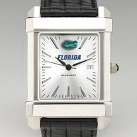 Florida Men's Collegiate Watch with Leather Strap