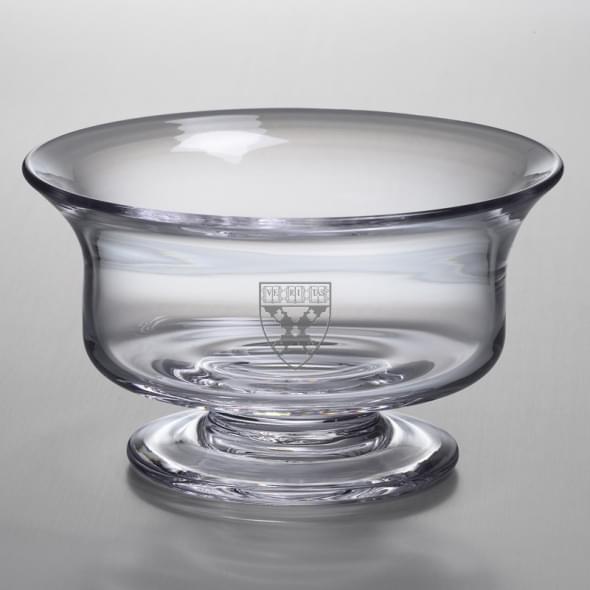 Harvard Business School Large Glass Revere Bowl by Simon Pearce
